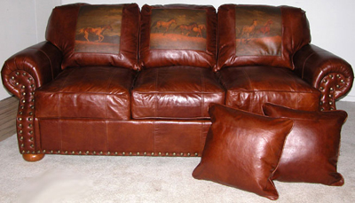 Emerson Leather Sofa