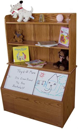 bookshelf toy box plans