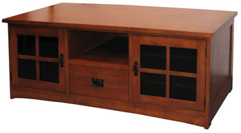 Weaver Mission Plasma Tv Stand