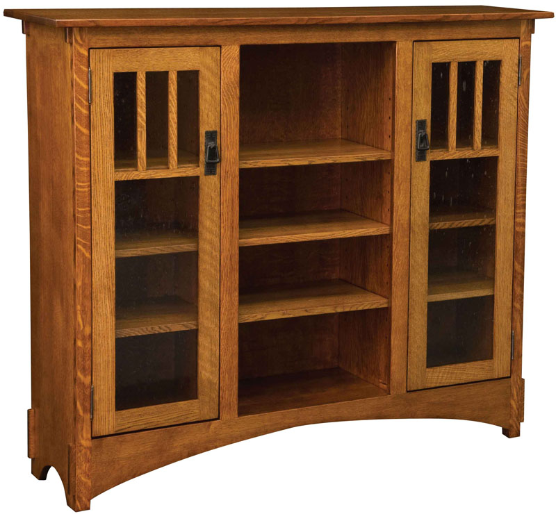Weaver's Debuts New Mission Bookcase - Amish Furniture