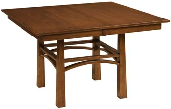 A classic design accents the Artesa Table.