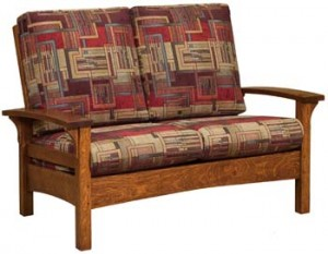 Durango Loveseat: a One-Of-A-Kind Furnishing