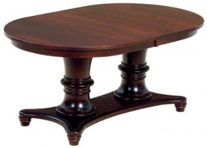 Woodbury Double Pedestal Table