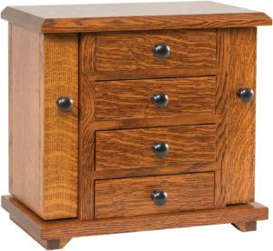 Dresser Top Jewelry Cabinet