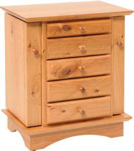 Shaker Dresser Top Jewelry Cabinet