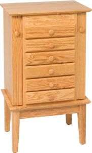 Shaker Jewelry Armoire 35 inch