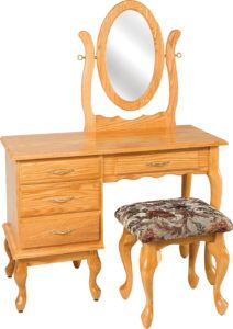 Medium Queen Anne Dressing Table