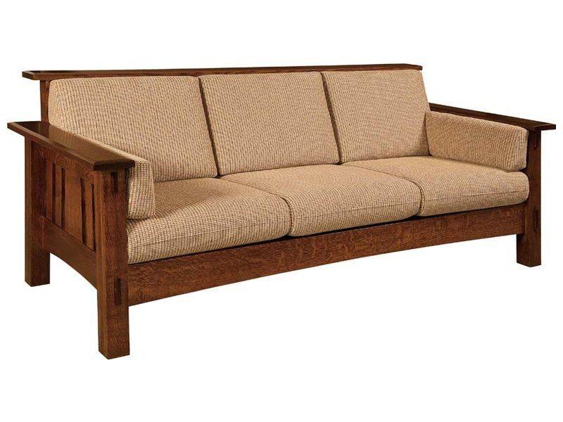 Solid Sofa Solid Wood Corner Sofa High Quality Low Cost