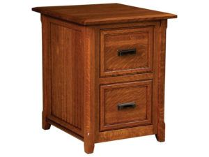 Ashton Hardwood File Cabinet