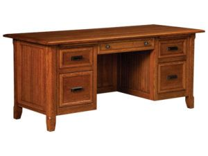 Ashton Hardwood Executive Desk