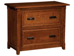 Ashton Hardwood Lateral File Cabinet