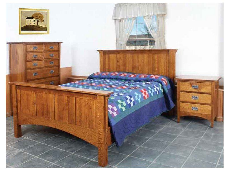 Arts and Crafts Bedroom Collection | Amish Arts & Crafts ...