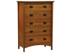 Arts and Crafts Tall Mountain Master Chest