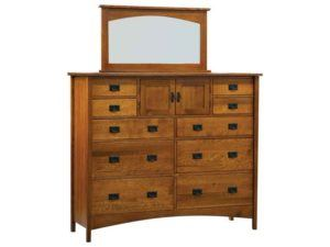 Arts and Crafts Wide Mountain Master Dresser