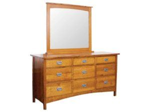 Arts and Crafts 9 Drawer Dresser