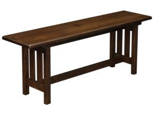 Bay Hill Slat Trestle Bench