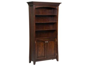 Berkley Style Bookcase with Doors