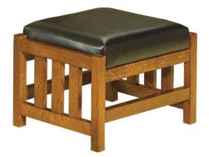 Bow Arm Morris Slat Footstool