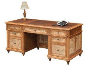 68 inch Bridgeport Executive Desk