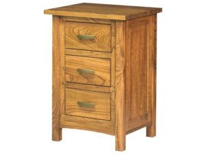 Brooklyn Mission Wooden Bedside Chest