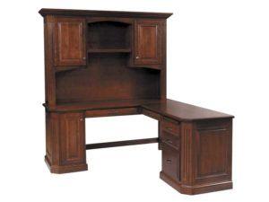 Buckingham Corner L Desk with Hutch