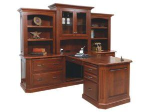 Buckingham Partner Desk and Hutch