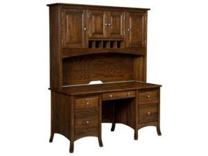 Carlisle Style Desk with Hutch