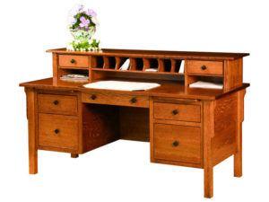 Centennial Style Flat Top Desk