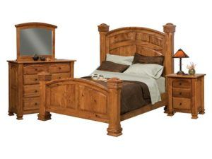 Charleston Collection 5 Piece Bedroom Set