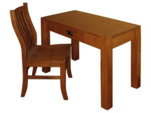 Chuck Mission Table and Chair Set