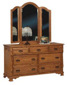 Classic Heritage Hardwood Dresser