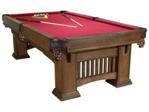 8' Mission Pool Table