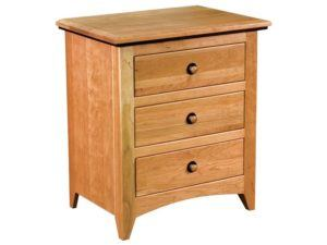 Classic Shaker Wood Bedside Chest
