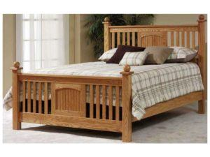 Solid Wood Cottage Children's Slat Bed