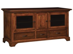 Escalade Three Drawer, Three Door Plasma Stand