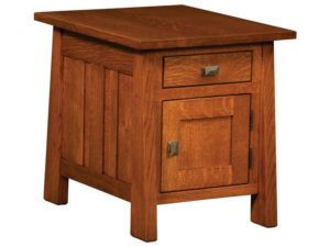Freemont Hardwood Mission End Table