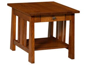 Freemont Open Mission Hardwood End Table