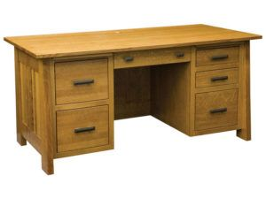 Freemont Mission Hardwood Lower Pedestal File Desk