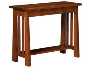 Freemont Open Mission Hardwood Hall Table