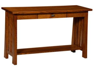 Freemont Open Mission Hardwood Sofa Table