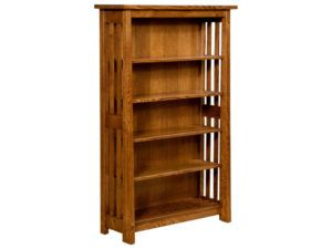 Freemont Open Mission Hardwood Bookcase