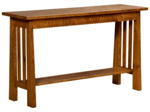 Freemont Open Mission Hardwood Return Table