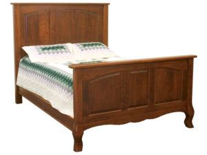 French Country Panel Bed