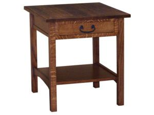 Granny Mission Open End Table
