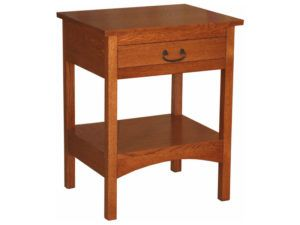 Granny Mission Open Space Nightstand