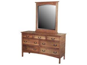 Granny Mission Seven Drawer Dresser