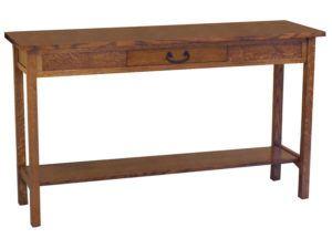 Granny Mission Open Sofa Table