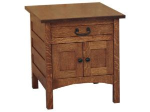 Granny Mission Enclosed End Table