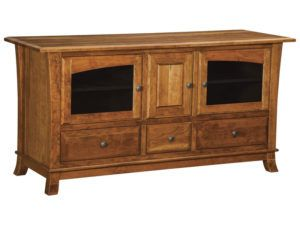 Hampton Three Drawers, Three Door Plasma Stand