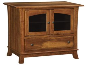 Hampton One Drawer, Two Door Plasma Stand